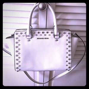 Snow White Bejeweled Michael Kors Purse